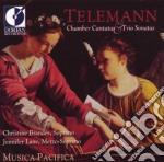Chamber cantatas & trio sonatas cd musicale di Telemann georg phil
