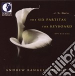 The six partitas for keyboard bwv 825-83 cd musicale di Bach johann sebasti