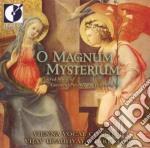 O magnum mysterium cd musicale di Giovanni Palestrina