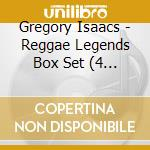 REGGAE LEGEND (BOX 4 CD) cd musicale di ISAACS GREGORY