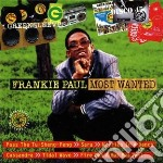 Frankie Paul - Most Wanted cd musicale di Frankie Paul