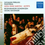MISSA PAPAE MARCELLI, MOTETS cd musicale di Georg Ratzinger