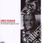 The last great c.vol.1&2 cd musicale di Chet Baker