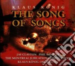 The song of songs cd musicale di Klaus Konig
