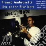 Live at the blue note cd musicale di Franco Ambrosetti