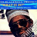 What it is? cd musicale di Blackwell ed project