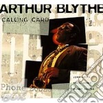 Calling card cd musicale di Arthur Blythe