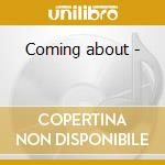 Coming about - cd musicale di Maria schinder jazz orchestra
