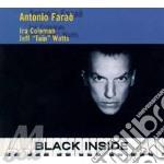 Black inside cd musicale di Antonio Farao'