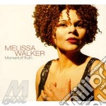 Moment of truth cd musicale di Melissa Walker