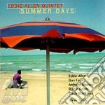 Summer days cd musicale di Eddie Allen