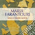 Sings taner akyol cd musicale di Maria Farantouri