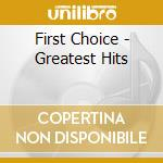 Greatest hits cd musicale di Choice First
