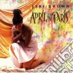 Jeri Brown - April In Paris cd musicale di Jeri Brown