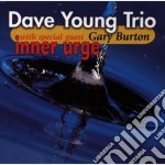 Inner urge - young dave burton gary cd musicale di Dave young trio feat.gary burt