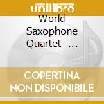 EXPERIENCE cd musicale di WORLD SAXOPHONE QUARTET