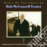 Music of the twenties cd musicale di Bob mcdonnell tentet