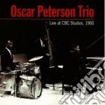Live at cbc studios,1960 - peterson oscar cd musicale di Oscar peterson trio