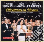 Christmas in vienna cd musicale di Domingo/ross/carrera