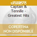 Greatest hits cd musicale di Captain & tennille