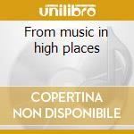 From music in high places cd musicale di Law Unwritten
