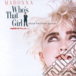 Madonna - Who's That Girl cd musicale di Madonna