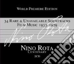 34 rare & unavailable soundtracks film m cd musicale di Nino Rota