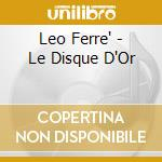 Le disque d'or cd musicale