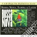 BOSSA NOVA,SAMBA & LATIN/5CD cd musicale