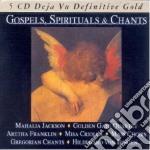 GOSPELS,SPIRITUAL & CHANTS/5CD cd musicale di ARTISTI VARI