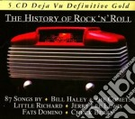 THE HISTORY OF ROCK'N' ROLL (87 SONGS) cd musicale