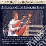 Anthology of english folk music - 78 son cd musicale di Inghilterra Folk