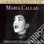GREATEST ARIAS AND DUETS cd musicale di Maria Callas