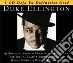 DEFINITIVE GOLD  (BOX 5 CD) cd musicale di Duke Ellington