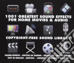 1001 effetti sonori - sound effects cd musicale di Artisti Vari