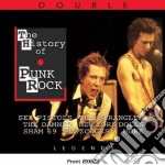The history of punk rock: i gruppi e i b cd musicale