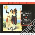 CANZONI NAPOLETANE E POPOLARI cd musicale di Beniamino Gigli