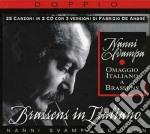 Brassens in italiano - omaggio italiano cd musicale di Nanni Svampa