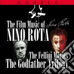THE FELLINI MOVIES/THE GOODFATHER TRILOGY (BOX 2 CD) cd musicale di Nino Rota