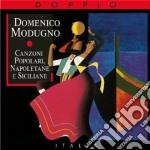 CANZONI POPOLARI NAPOLETANE E SICILIANE cd musicale di Domenico Modugno