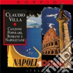 CANZONI POPOLARI ROMANE E NAPOLETANE cd musicale di Claudio Villa