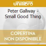 Small good thing - cd musicale di Gallway Peter