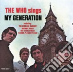 Sings my generation cd musicale di Who