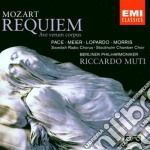 REQUIEM IN RE KV.626/AVE VERUM MUTI/ cd musicale di Riccardo Muti