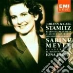 CONCERTI PER CLARINETTO MEYER/BROWN cd musicale di Sabine Meyer