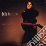 DON'T SMOKE IN BED cd musicale di COLE HOLLY