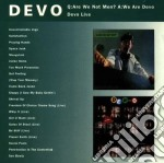 Devo - Q: Are We Not Men? A: We Are Devo / Devo Live cd musicale di DEVO