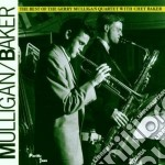 THE BEST OF G.MULLIGAN WITH C.BAKER cd musicale di Gerry Mulligan