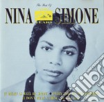 THE BEST OF cd musicale di SIMONE NINA