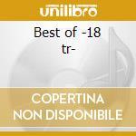 Best of -18 tr- cd musicale di Tops Box